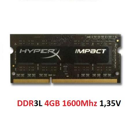DDR3L 4GB 1600Mhz 1,35V